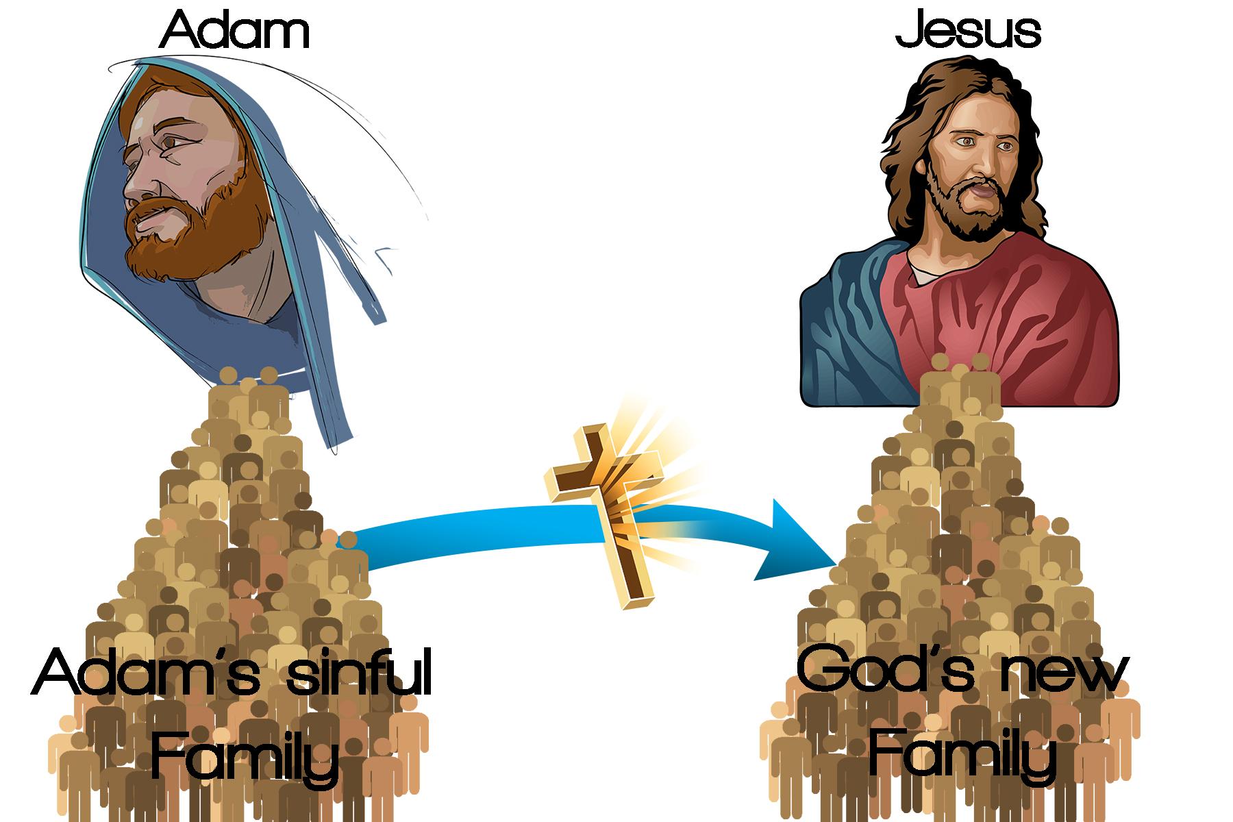 1st Adam and 2nd Adam ادم الاول و ادم الثاني