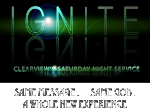IGNITE - SAT EVENING SERVICE