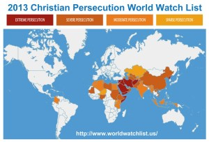 2013-christian-persecution-world-watch-list