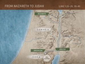 Nazareth to the Hills of Judea