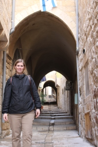 Road to the Garden of Gethsemane