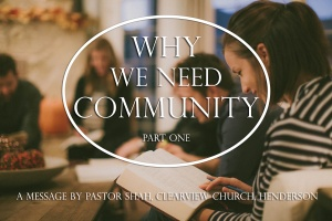 whyweneedcommunity