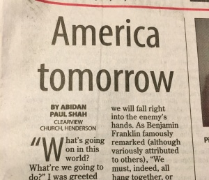America Tomorrow by Abidan Shah